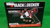 """Black & Decker Matrix BDCDMT120 20V Li-Ion 3/8"""" Cordless Drill/Driver"""